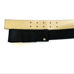 Kate Spade | Belt with bow leather black L